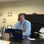 The Scoop on Principal Cary: How he's adjusting, what faculty think, his goals