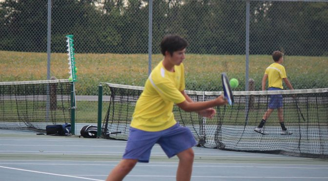 Boys' tennis: Hard work, tough opponents