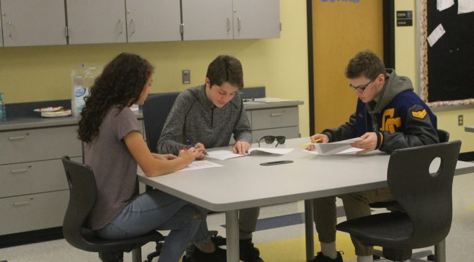 Students build career, college prep experience