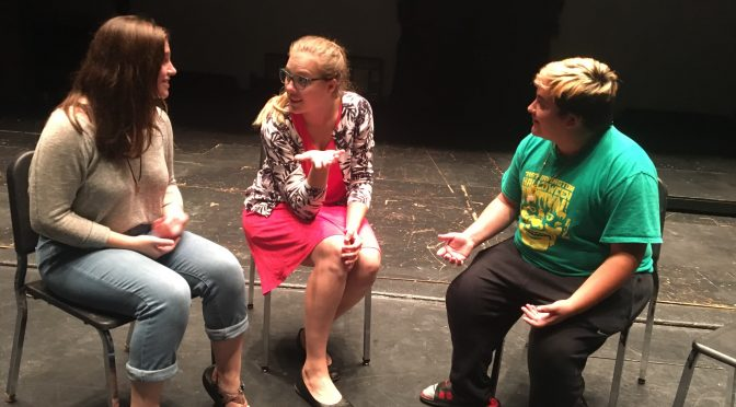 Drama director encourages family environment