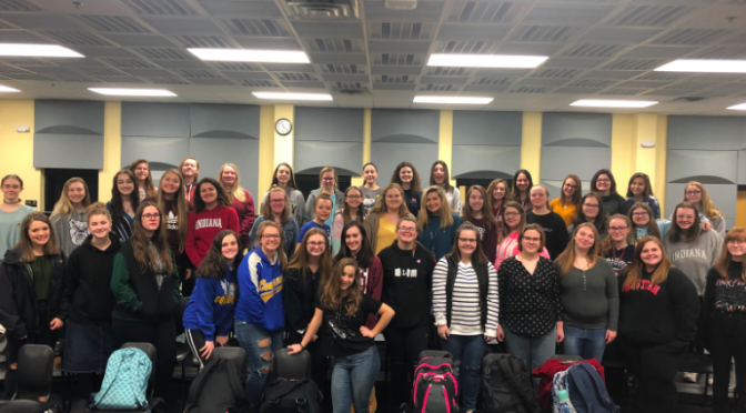 Choir heads to ISSMA competition soon