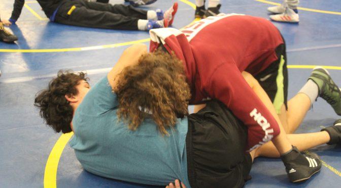 Wrestlers discuss training, preparation