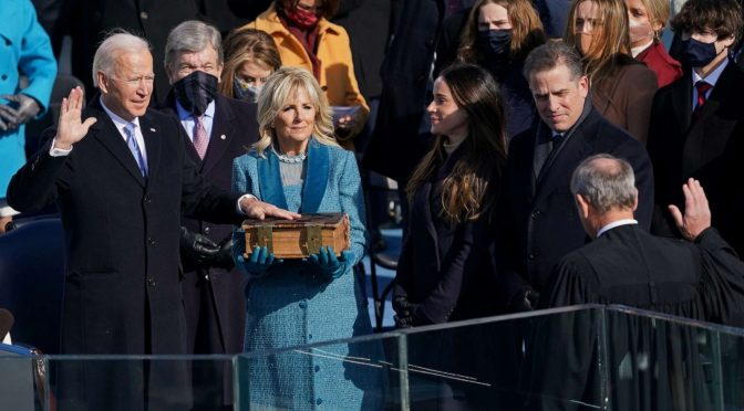 Election and InauguratioN:  Historic events unfold leading up to inauguration