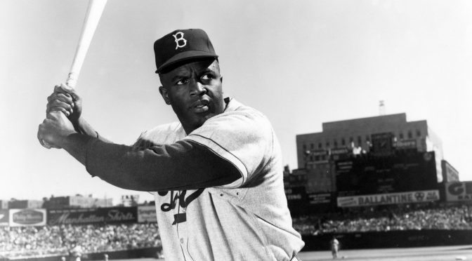 black history month Profile: Jackie robinson, major league baseball pioneer