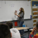 Profile:  Math teacher Marler helps to turn negatives to positives